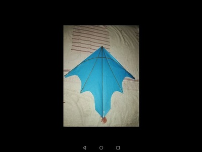 How to cut a stylish kite|patang paper |2018 #Vvlogs