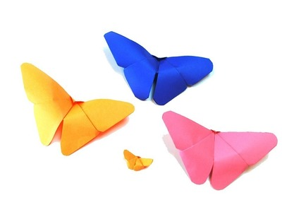 How To Make A Butterfly With Paper