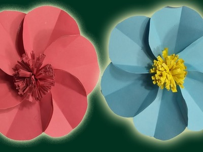 Flower How To Make Wall Hanging Paper Flower Beautiful Wall