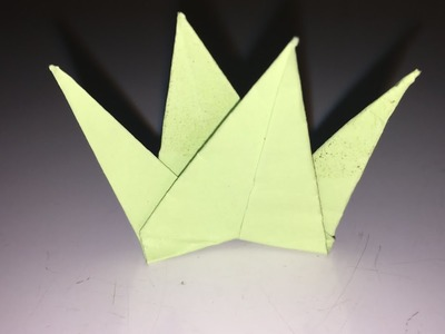 How to make a origami grass