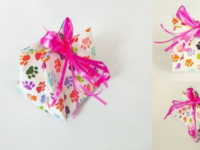 How To Make A Paper Gift Bag Without Glue