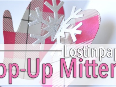 How to Make a Pop Up Mittens Card!