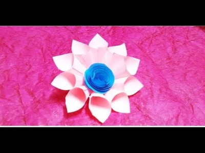 How How To Make Paper Flowers Origami Diy Crafts With Paper How