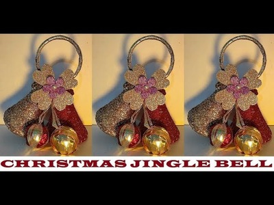 How to make Christmas Bells from Waste Bottle | DIY | Jingle Bells | Christmas Decor