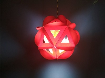 How to make Diwali lantern by Sheetal Khajure- Arty Hearty