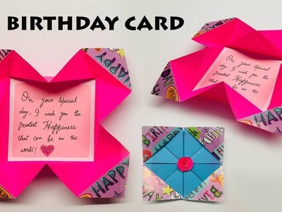 Birthday How To Make Butterfly Birthday Gift Card Diy Greeting