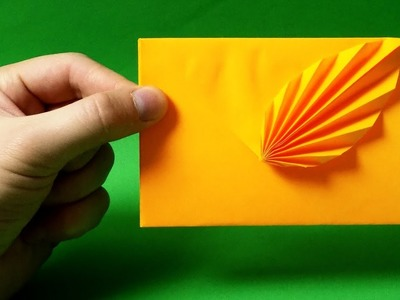 How To Make Envelope - Easy Origami Paper Envelope Tutorial