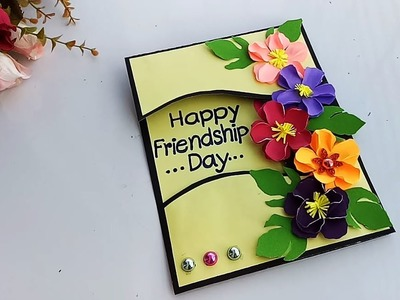 How to make Friendship special card. DIY Gift Idea