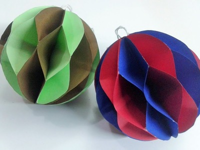 How to make paper ball - DIY Paper Crafts
