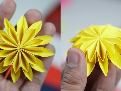 How To Make Paper Flowers - Paper Flowers Tutorial (EASY)