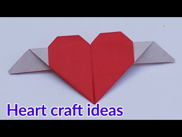 How To Make Paper Heart Paper Heart Folding Instruction Valentine