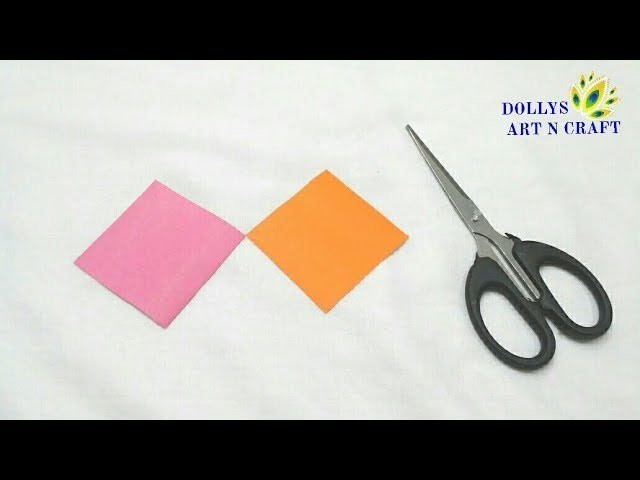 How to make Small Paper Flower | DIY Cute Little Flower with Paper | Tiny Paper flowers