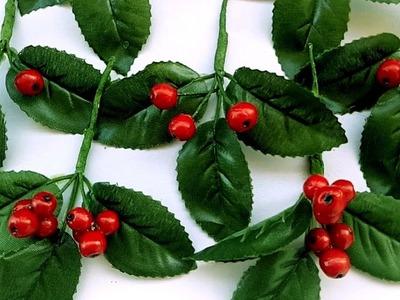 How to make Winter Cherry for Christmas Decor