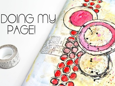 How To Redo A Bad Art Journal Page