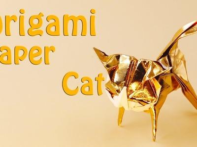 ????Origami Cat Ver.2???? - How to Make a Cute Paper cat (30 Minutes)