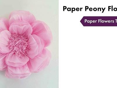 Paper Flowers Tutorial | How To Setup | eFavormart.com