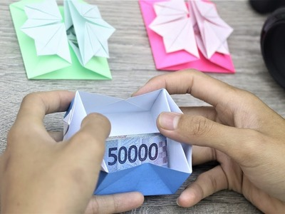 Paper Folding Art (Origami): How to Make  Envelope For Prize Money