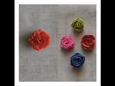Quilling tutorial: How to make Quilling Rose and Quilling Marigold flower.