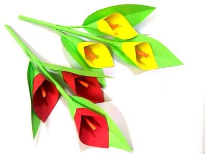 Beautiful DIY PAPER CRAFT ideas.kagaj ka phool kaise banaye 3.how to make beautiful paper flower