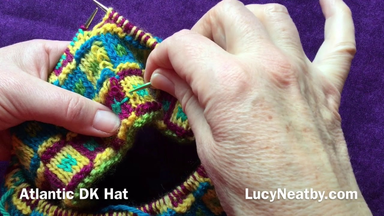 Correcting a Mistake in Double Knitting