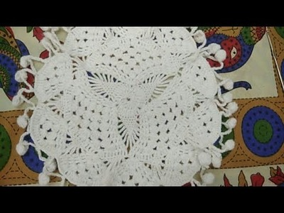 Crochet Design Thalposh Design in Hindi