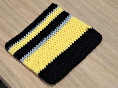 CROCHET TIME LAPSE : Crochet a pouch