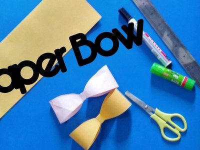 Origami - How to fold a paper Bow/Ribbon ♥︎ Paper Kawaii ... | 300x400