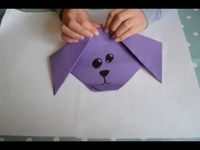 How to make a paper dog by Emily!!