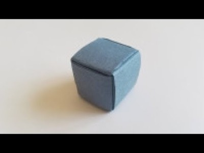 How To Make an Origami 3D Cube | Easy Origami Tutorial Seri