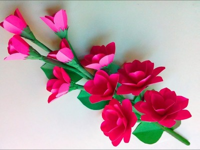 How to Make Beautiful Jasmine Flower With Paper - Diy Paper Flowers