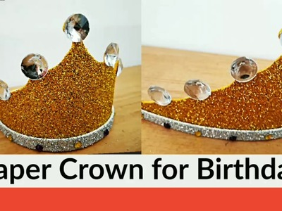 How to Make King.Queen Crown for Birthday? DIY 2019 @simplified Crafts and Arts