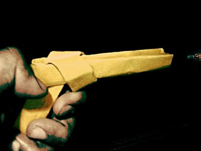 How to make paper gun without glue