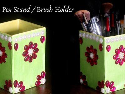 How To Make Pen Stand | DIY Cardboard Organizer | Pencil Holder | Pen Holder | Pen Stand