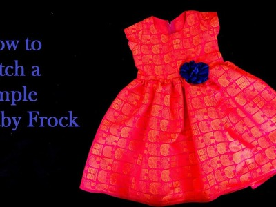 How to Stitch a Simple Baby Frock | Learn Stitching from Home | Video 27