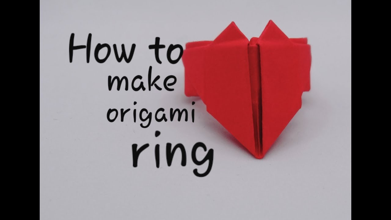 Easy Origami Ring DIY - Red Ted Art - Make crafting with kids easy ... | 720x1280