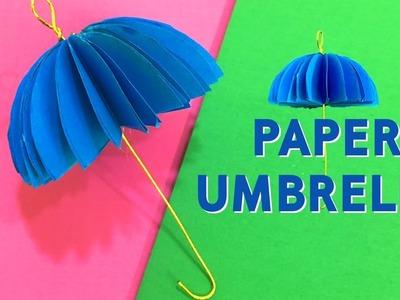 Origami Umbrella   How To Make Paper Umbrella   Paper Crafts Ideas   Easy DIY Crafts   Do Craft
