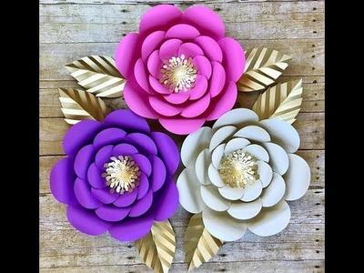 কাগজের ফুল।।How to make paper flower