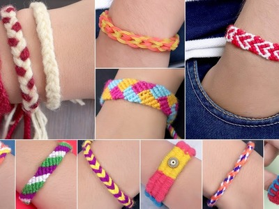 10 Fancy Bracelet Idea !! Daily Ware || Easy DIY Bracelet Projects !!!