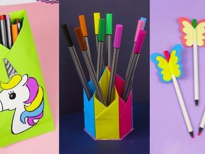 7 DIY School Supplies | Easy DIY Paper crafts ideas
