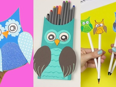 8 DIY School Supplies | Easy DIY Paper crafts ideas