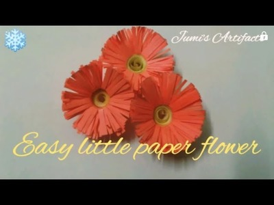 #DIY #ArtnCraft #paperflower               How to make easy paper flower for beginners