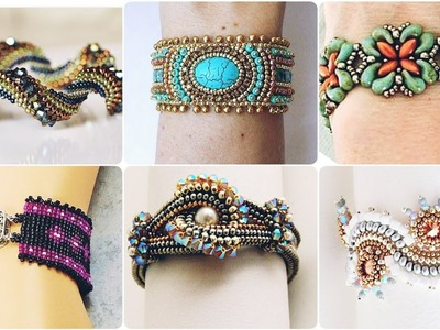 DIY Beautiful And Stunning Hand Made Beaded Bracelets For Every Day Use