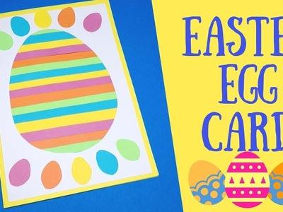 Easy Easter Egg Card for Kids to Make | Easter Paper Crafts