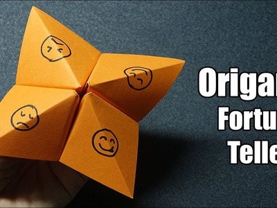 How To Make a Paper Fortune Teller - Easy Origami Tutorial