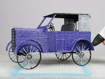 How to make Car | Amazing PLA Filament