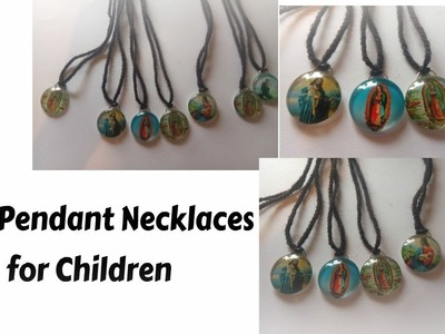 How to make easy necklace for children.jewellery making ideas for beginners