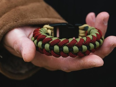 How To Make The Type-PZ Knot Paracord Bracelet