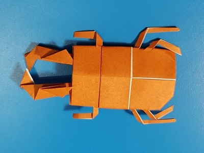 Origami art - Gấp Con Bọ Hung #2 || How To Make Beetles