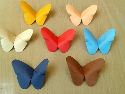 Origami Butterfly- Paper Ceaft    Fold a butterfly out of paper-DIY wall&Room Decor