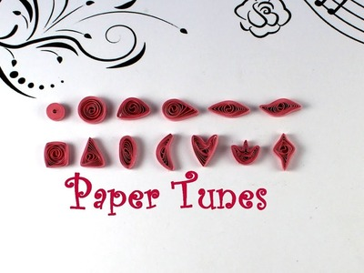 Paper Quilling Shapes